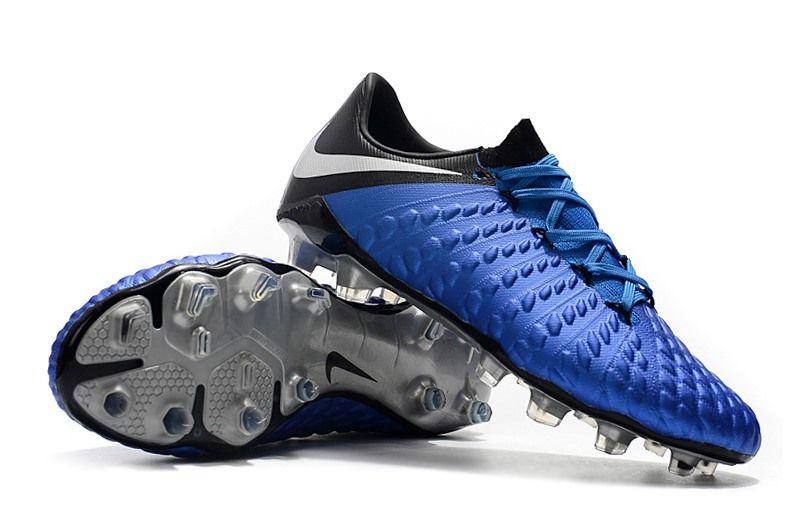 on sale f4d73 a8681 nuevos Tacos Botas Nike Hypervenom Phantom III FG - Azul Negro Argento