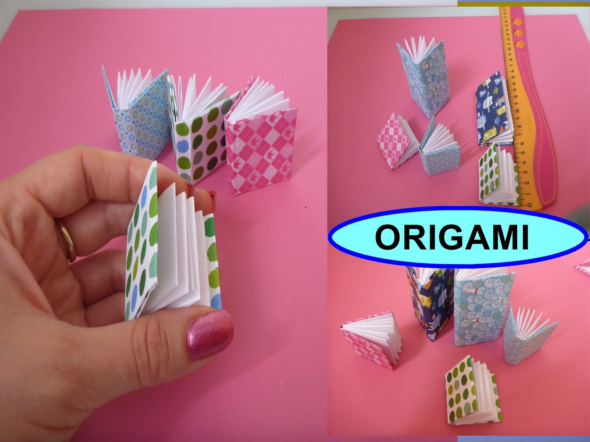 diy origami 3d notizbuch falten mini buch einfache deutsche anleitung geschenk zum muttertag. Black Bedroom Furniture Sets. Home Design Ideas