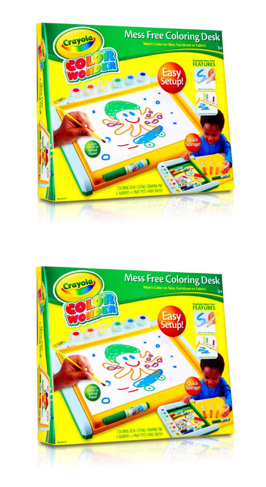 Other Kids Drawing and Painting 160718: Color Wonder Mess Free Art ...