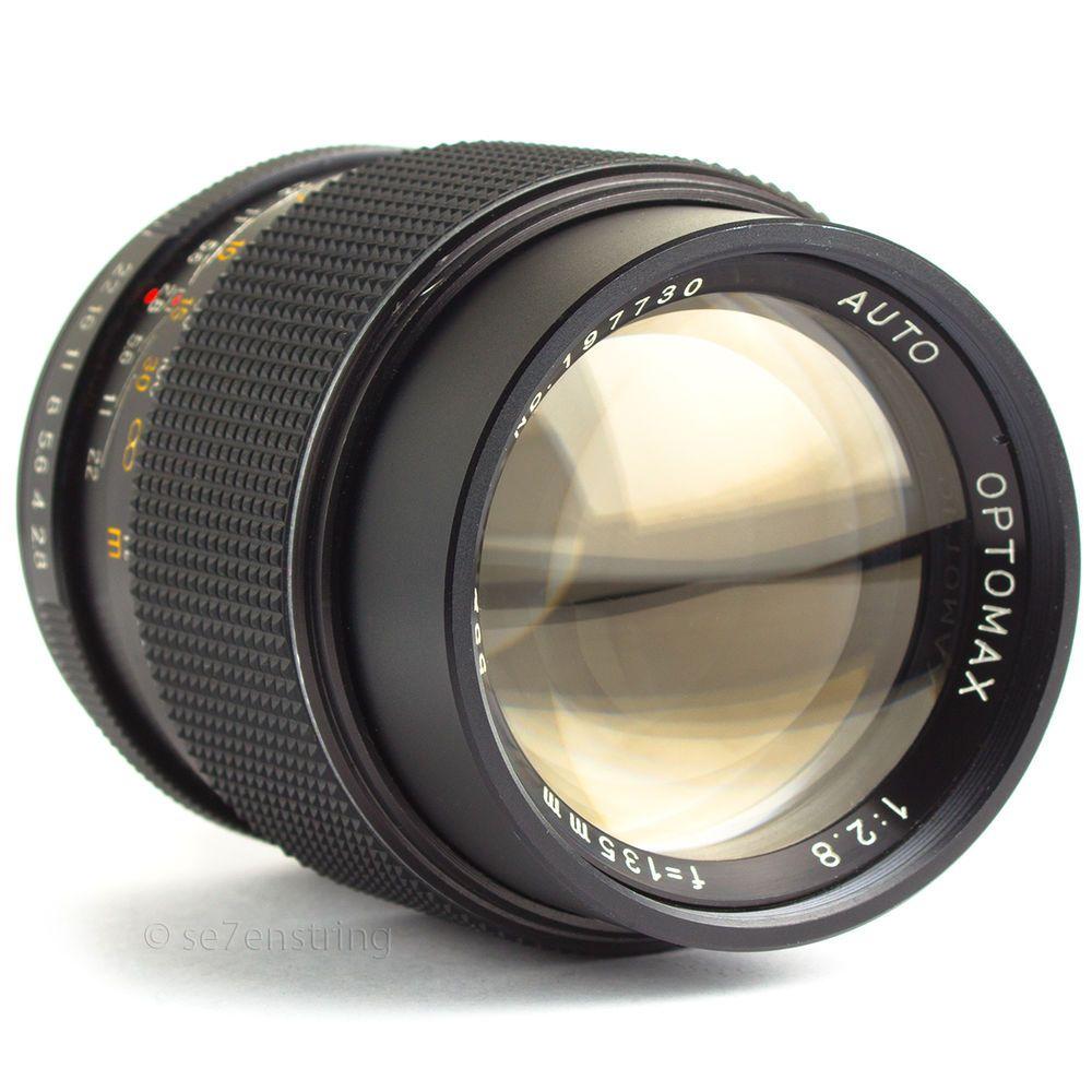 Optomax 135mm F2 8 Portrait Prime Lens M42 Pentax Screw Fit Dslr Adaptable Fotografia