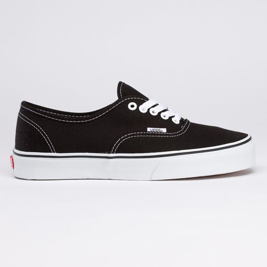 vans negras authentic