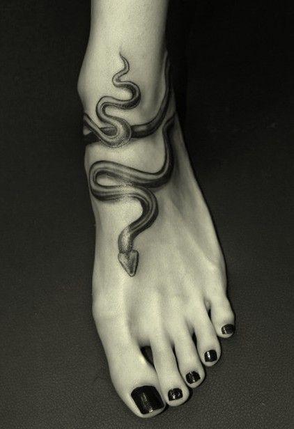 Wąż Tatuaż Tatuażewęże Snake Tattoosnake Tattoo Tatoo