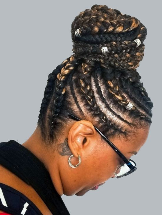 Braided Bun Hairstyles: A Guide to Perfection | Curly Craze #bunshairstylesforblackwomen