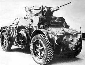 Immagine della autoblinda 40/41 (AB 40/41) Armored Car
