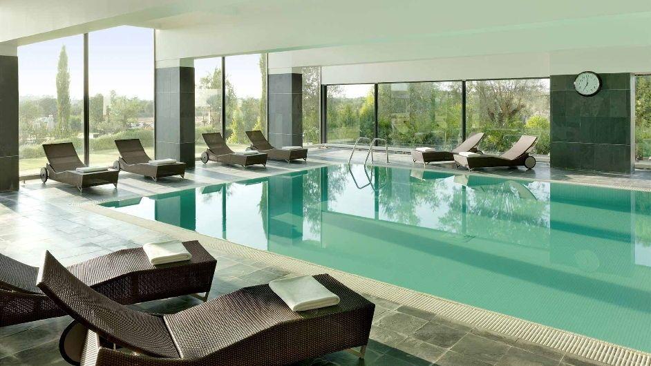 5 Star Spa Hotel In Alentejo Convento Do Espinheiro Indoor Pool Design Indoor Pool Luxury Spa Hotels