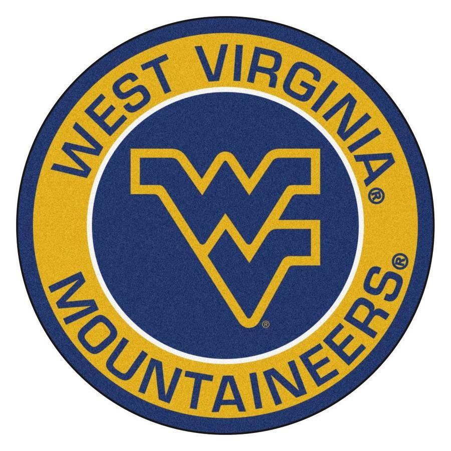 Fanmats West Virginia University Roundel Mat 27in Diameter Lowes Com In 2020 West Virginia University West Virginia Team Emblems [ 900 x 900 Pixel ]