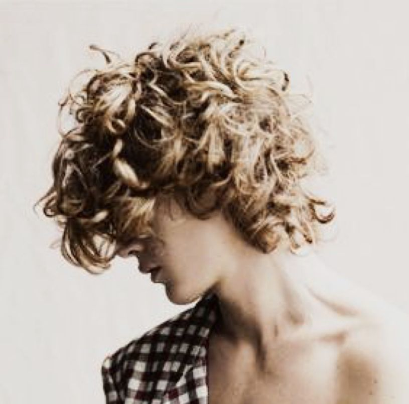Curly Hair Curly Hair Styles Blonde Aesthetic Men Blonde Hair