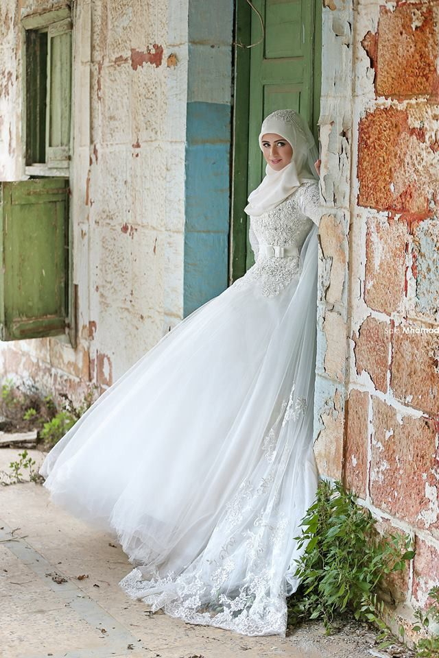 Robe De Mariee Moderne 2016 Mode Hijab Robe De Mariee
