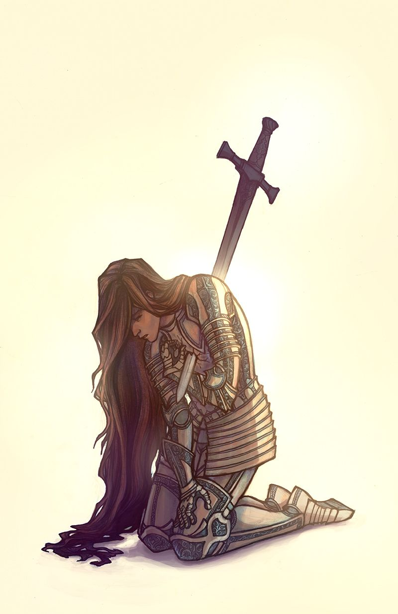 (Open rp. My name is Joice. The man running to me is my lover, Luke. He is also a knight.) I have failed the king and the queen. I have failed the kingdom. I have failed my mother and my father. My hair flowed with the wind as I fell to my knees. This is it, I thought, the end. I will never be a mother. I fall forward and I see someone running my way as I lay on the cold, hard ground.
