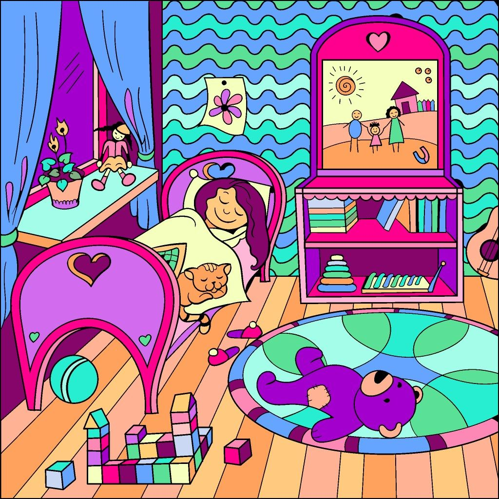 Pin By Erin Berg On Happy Color Colorful Art Art Pixel Art