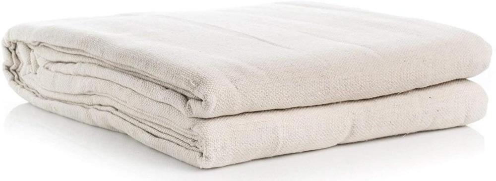 All Purpose Cotton Canvas Drop Cloth 5 feet x 10 feet | Etsy