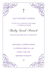 photo about First Communion Cards Printable identify Holy Communion Invites Absolutely free Printable - Letter