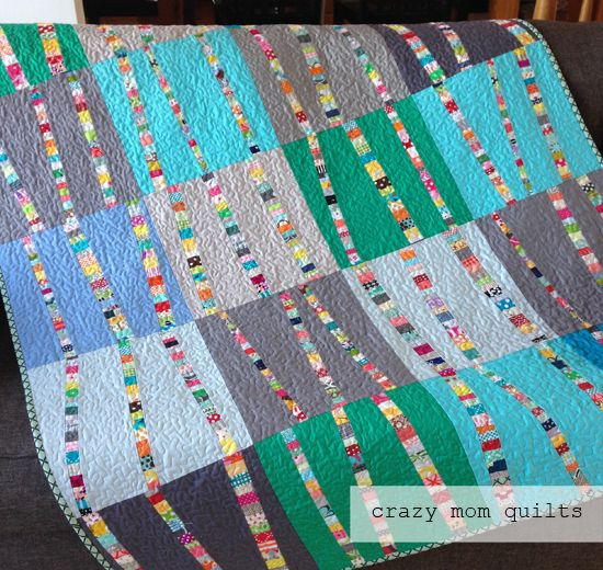 Crazy Mom Quilts Bright Birch Trees 3 A Completed Quilt Tree Quilt Block Tree Quilt Quilts