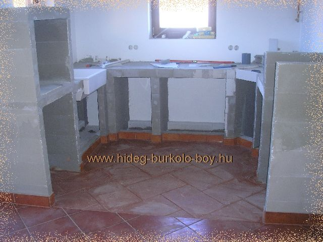 komplett u alakú épített konyhabútor ytong küche on outdoor kitchen ytong id=70242