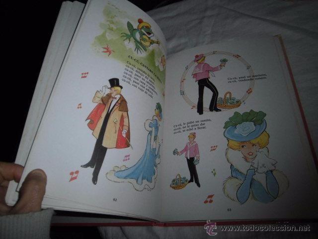 Libros de segunda mano: CANCIONES INFANTILES.EDICIONES SUSAETA 1990.ILUSTRACIONES MARIA PASCUAL - Foto 5 - 49642487
