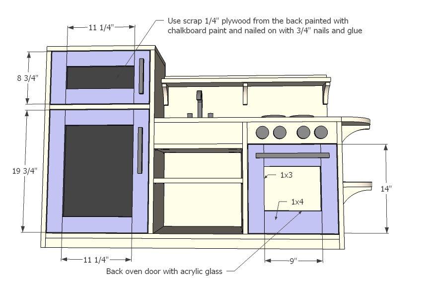 Ikea Duktig Kitchen Dimensions Drawing