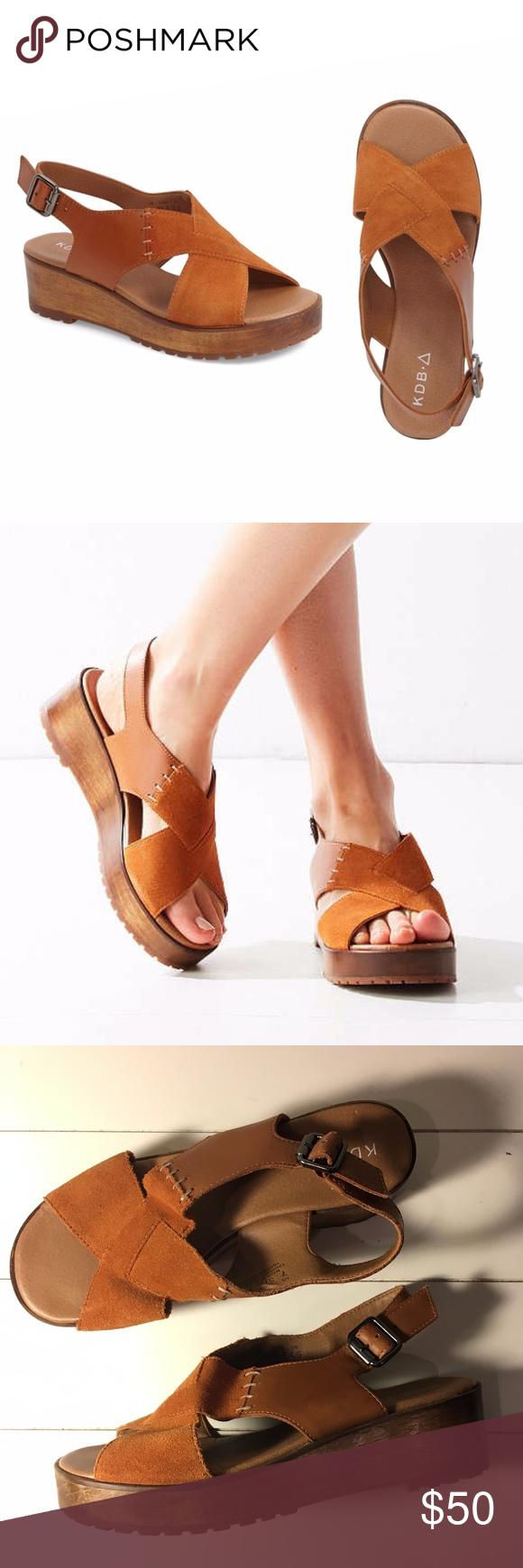 f18307f7aef9 Kelsi Dagger Brooklyn Wood Platform Sandals NWOT  Brand New Platform Wood  Sandals from UrbanOutfitters
