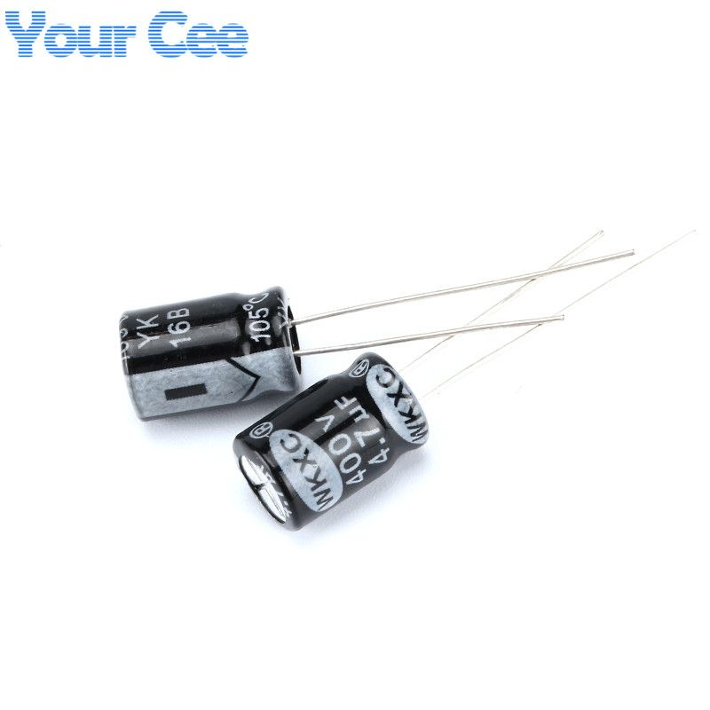 100 Pcs Electrolytic Capacitors 400v 4 7uf 8x12mm Aluminum Electrolytic Capacitor Affiliate Capacitors Electrolytic Capacitor Capacitor