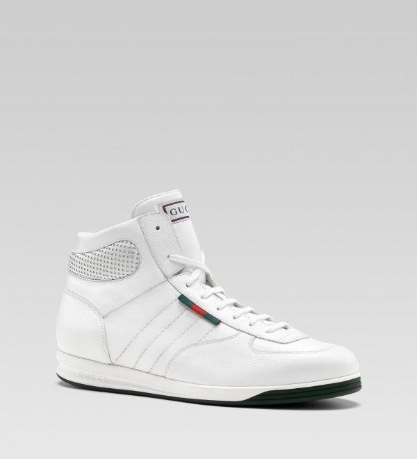 Gucci Web Baskets Salut-top - Blanc FR6rdQxH
