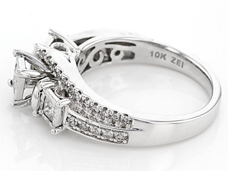 White Diamond 10k White Gold Ring 75ctw Docn275p White Gold Rings White Gold Gold Rings