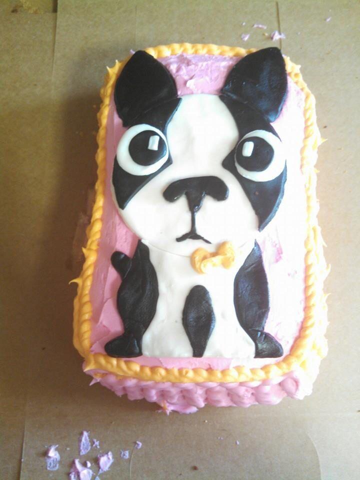 boston terrier cake Boston Terrier Pinterest Boston terrier