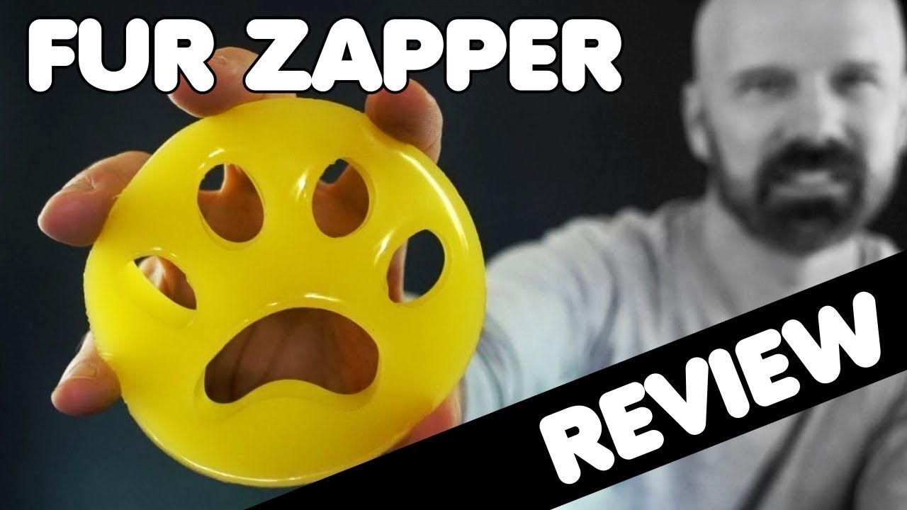 Fur Zapper Review Laundry Pet Hair Remover Cleaning pet