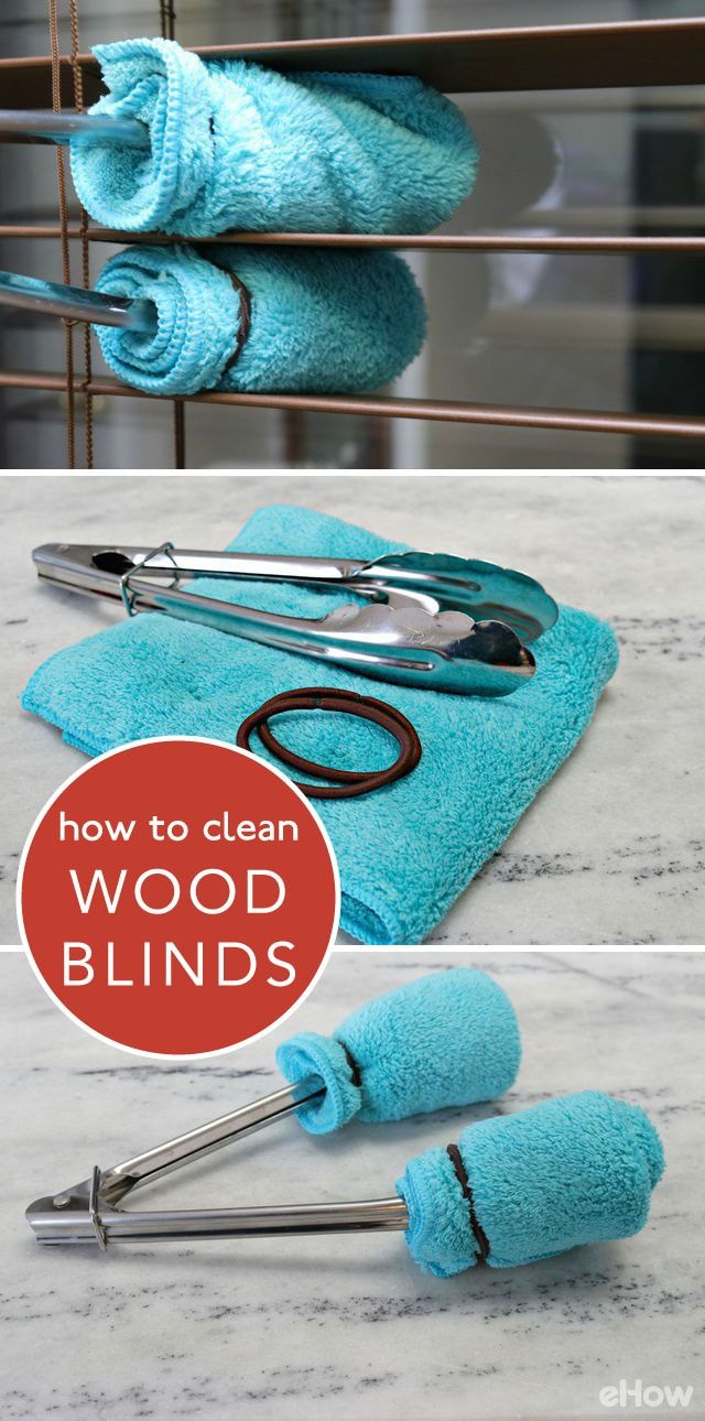 Easiest Way to Clean Wood Blinds | Clean wood blinds, Clean wood and ...