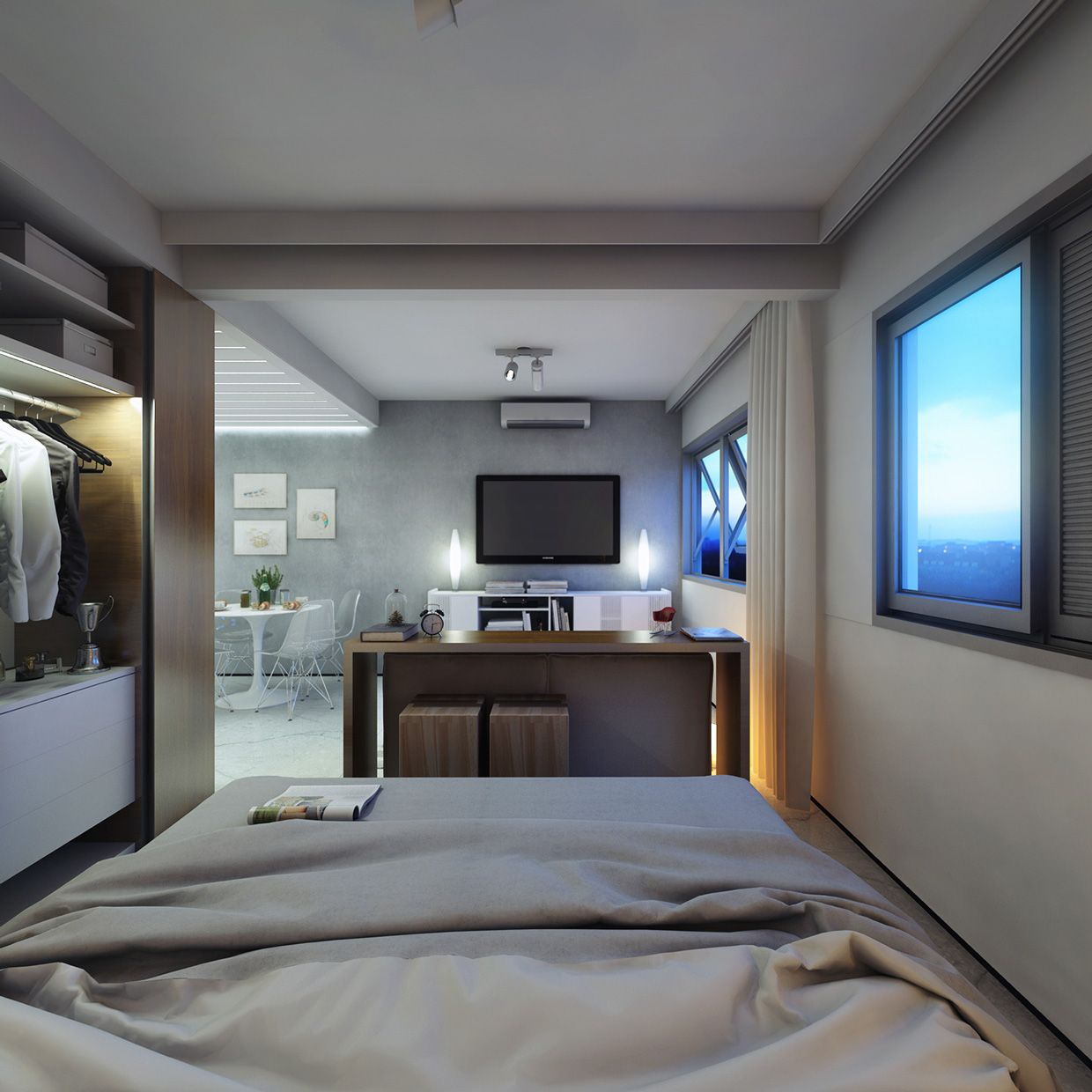 Captivating 2 Super Small Apartments Under 30 Square Meters (~325 Square Feet) [Includes  Floor Plans]