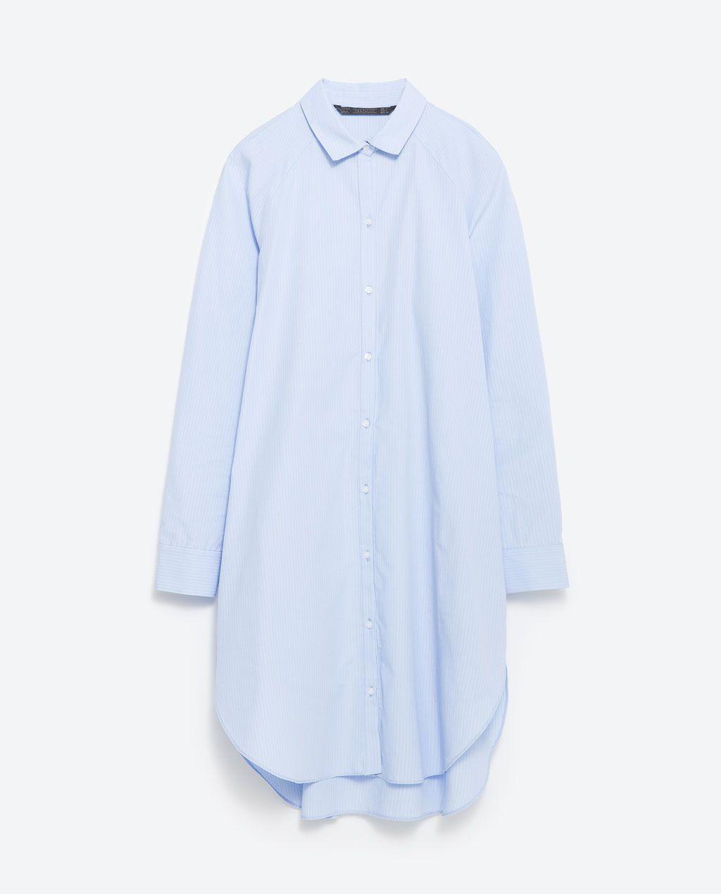 chemise manches raglan longues chemises femme zara. Black Bedroom Furniture Sets. Home Design Ideas