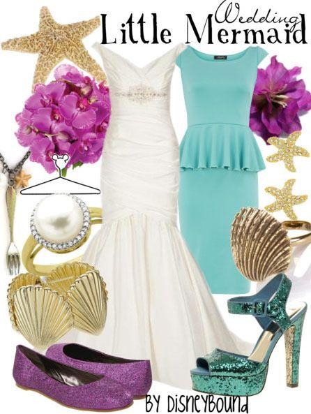 Little Mermaid ( wedding theme)   Disney Insipired   Pinterest ...
