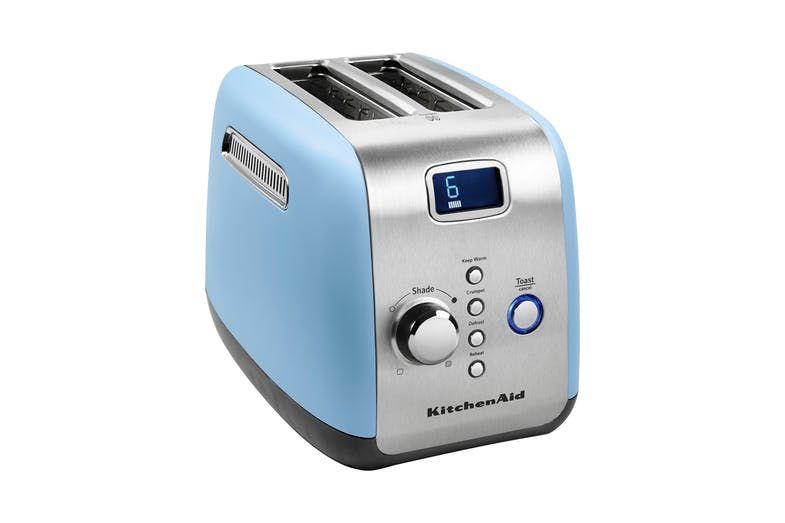 Kitchenaid artisan 2 slice toaster blue harvey norman