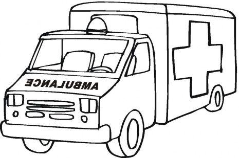 Interactive Magazine: Car ambulance coloring pages | coloring ...