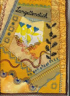 embroidery - buttonhole stitch