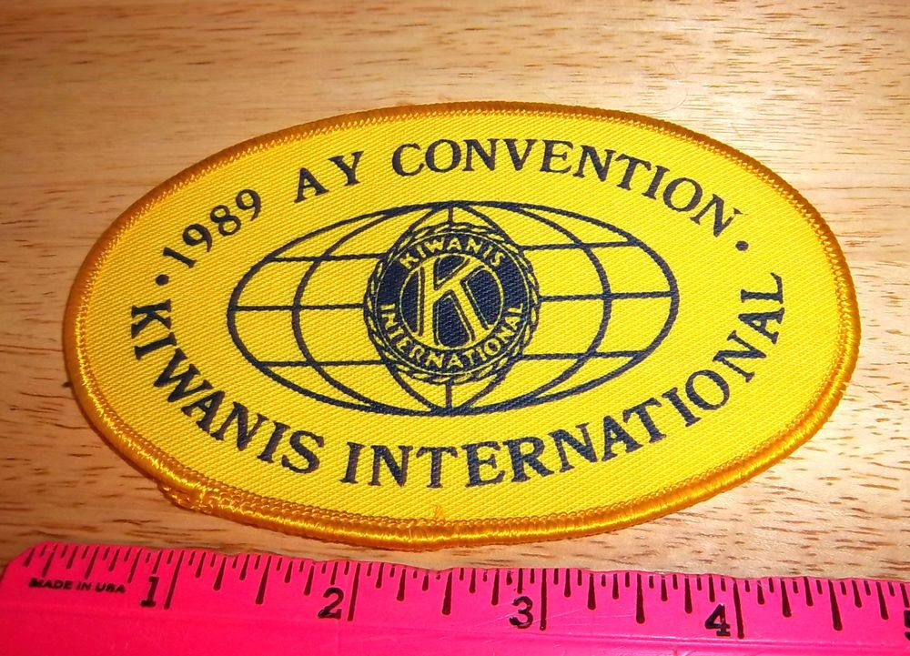 Details about Kiwanis international 1989 AY convention patch