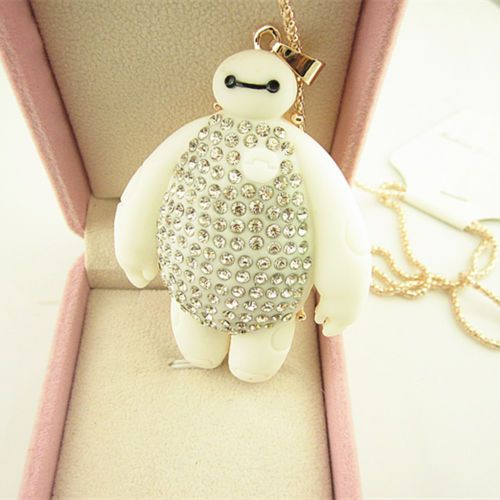 Full-Crystal-Big-Hero-6-Baymax-Warm-Friend-Pendant-Chain-Sweater-Necklace