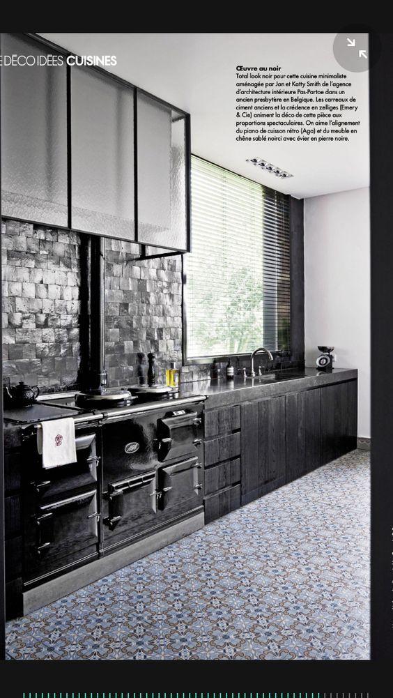 R sultat de recherche d 39 images pour hotte de cheminee for Cuisine zellige