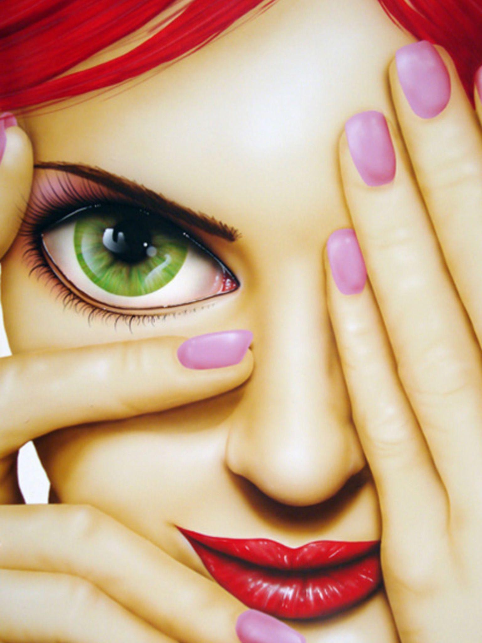Pin By Jelena On Illustrations Arts Art Colorful Art Face Art