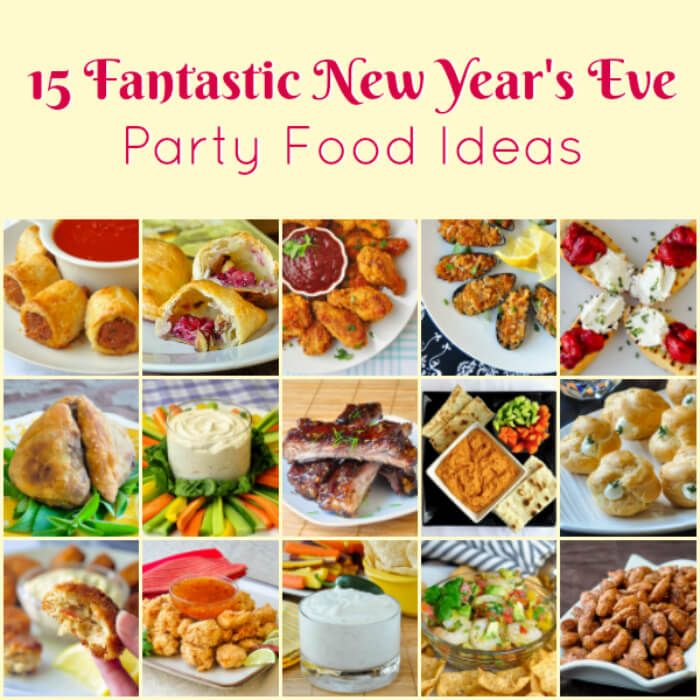 Superior New Years Eve Dinner Party Menu Ideas Part - 13: Best New Yearu0027s Eve Party Food Ideas