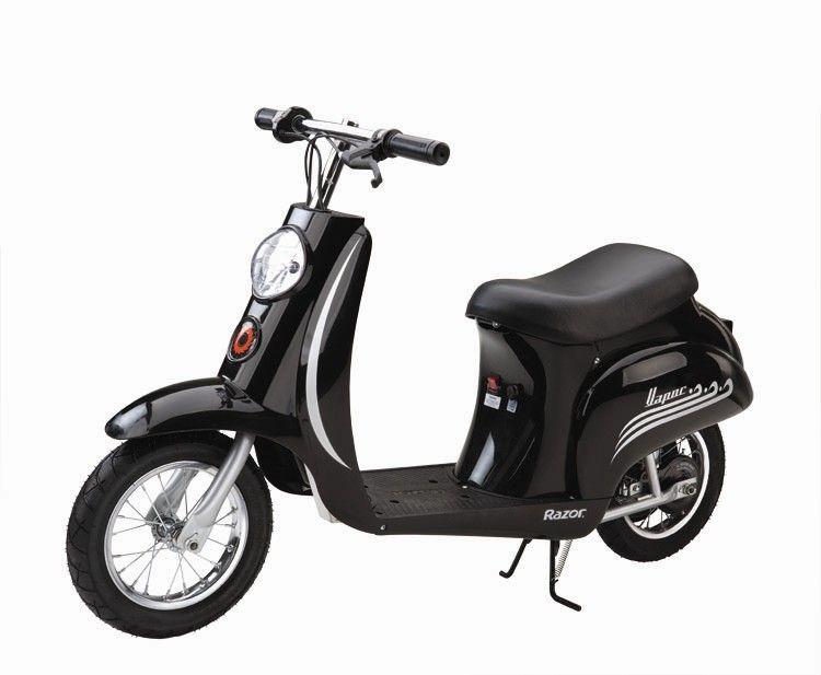 Razor Black Vintage 24v Electric Scooter 163 339 95 Kids