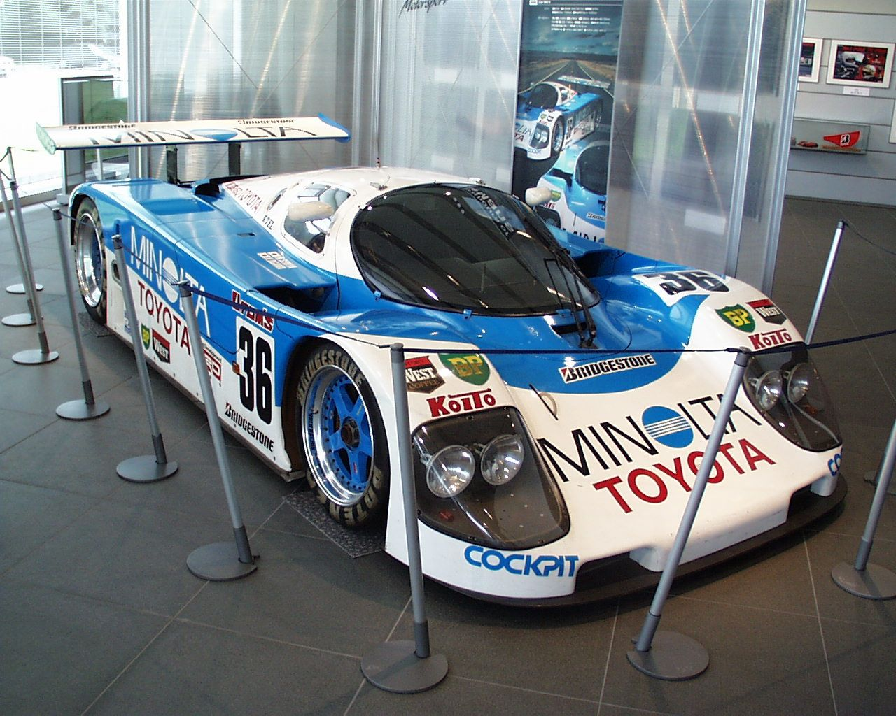 toyota minolta need for speed pinterest toyota le mans and cars. Black Bedroom Furniture Sets. Home Design Ideas