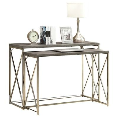 Balog 2 Piece Console Table Set | Console tables, Consoles and House