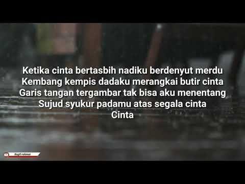 Melly Goeslaw Ketika Cinta Bertasbih Lyric Youtube Bersyukur Youtube Hiburan