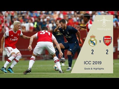 Bleeding Goals Youtube International Champions Cup English Premier League Real Madrid