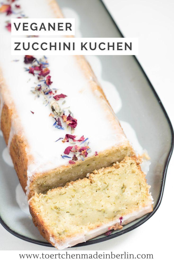Veganer Zucchini-Zitronen-Kuchen