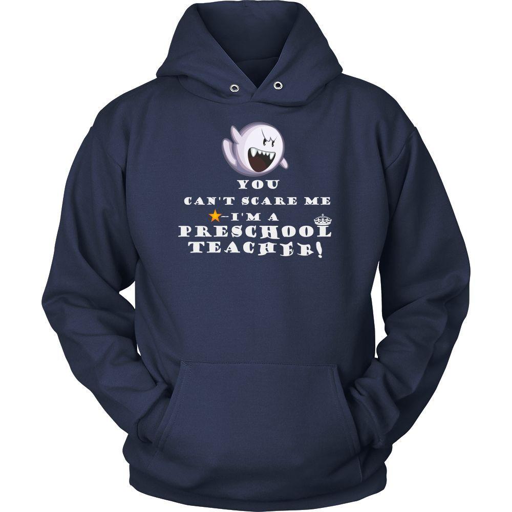 Preschool teacher T-shirt, hoodie and tank top. Preschool teacher funny gift idea.