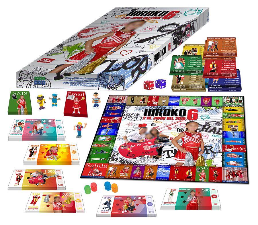 Turista Mundial Monopoly Juego De Mesa 100 Personalizado Solo