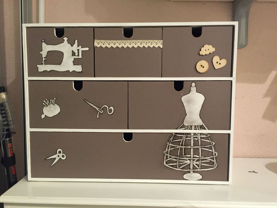 Mini Cassettiera Ikea Moppe.Cassettiera Ikea Moppe Diy Diy Furniture Ikea Hack Storage Ikea