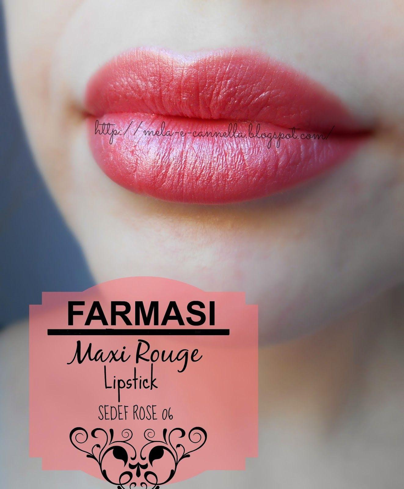 FARMASI Maxi Rouge Lipstick Sedef Rose 06 Rujlar, Ürünler