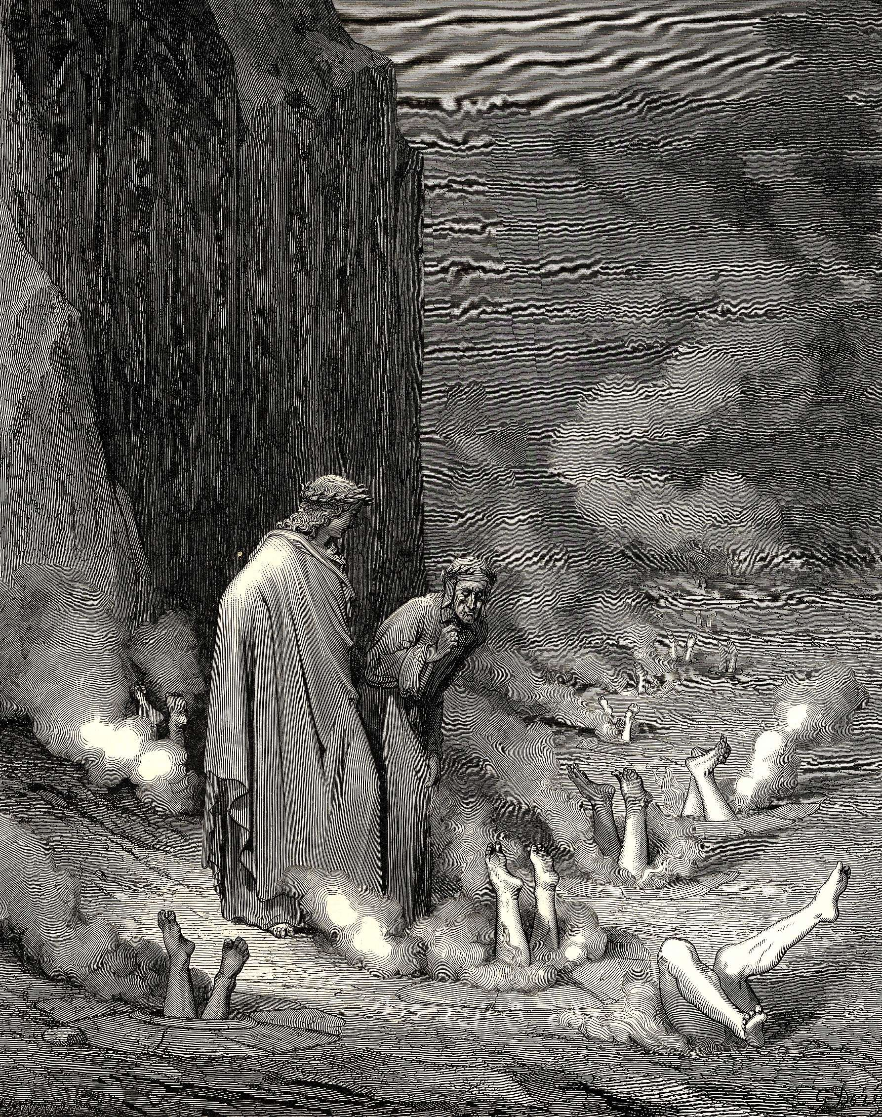 Divine Comedy III : Gustave Dore - art of the beautiful
