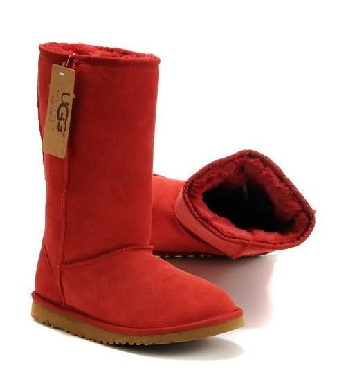5fff5260598 UGG Classic Tall 5815 Boots- Red | UGG BOOTS ONLINE | Uggs, Ugg ...
